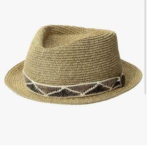 Goorin Bros Albuquerque Crushable Straw Fedora Hat